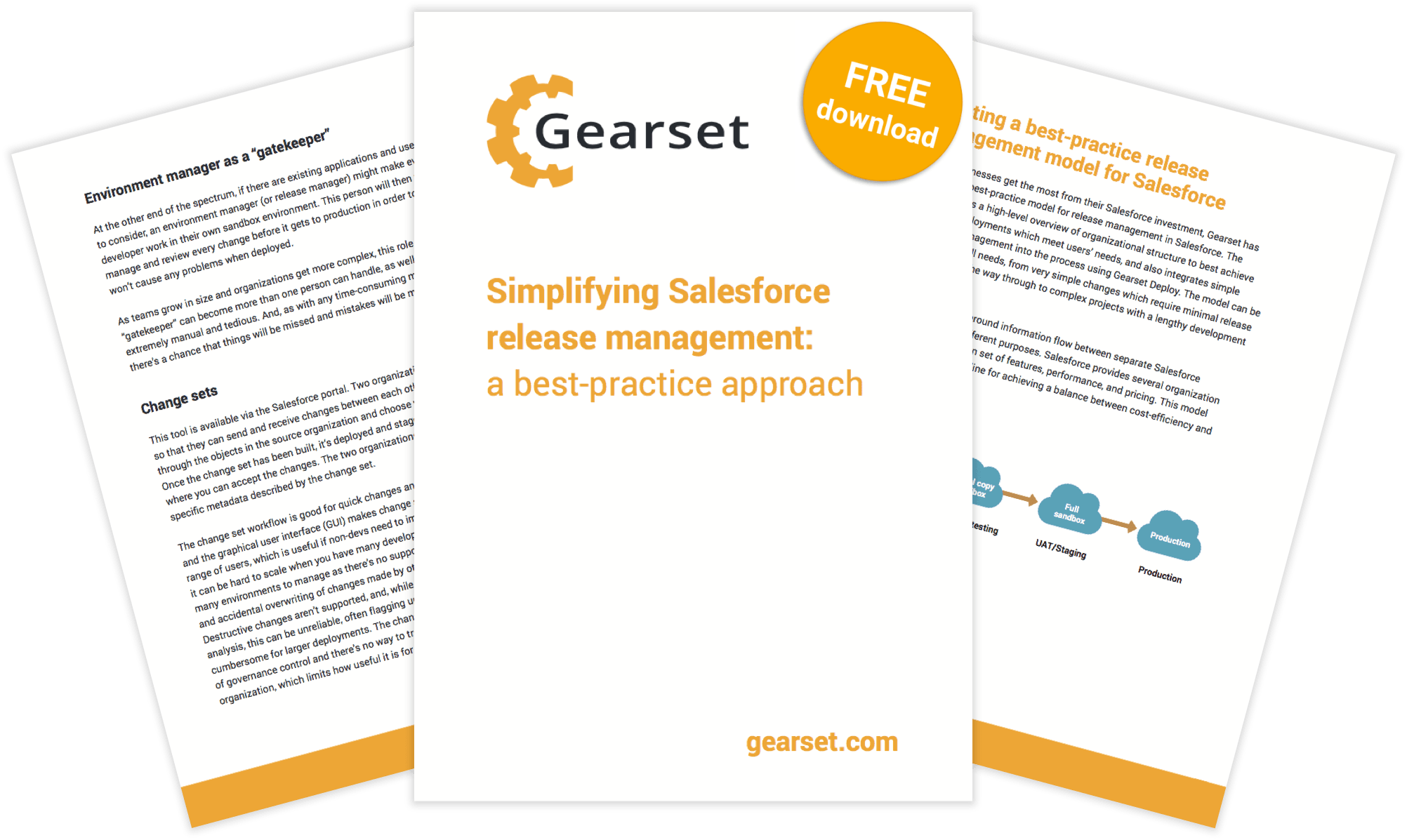 Gearset whitepaper: Simplifying Salesforce release management